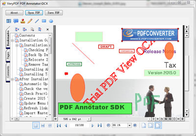 Royalty Free PDF Annotation SDK for  NET, C# PDF Annotate Library